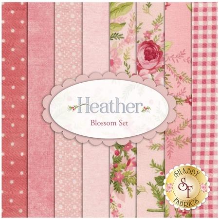 Heather  8 FQ Set - Blossom Set by Jennifer Bosworth for Maywood Studio