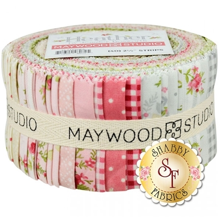 "Heather  2 1/2"" Strips by Jennifer Bosworth for Maywood Studio"
