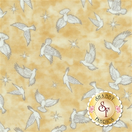 Heavenly 24572-E Parchment by Dan Morris for Quilting Treasures