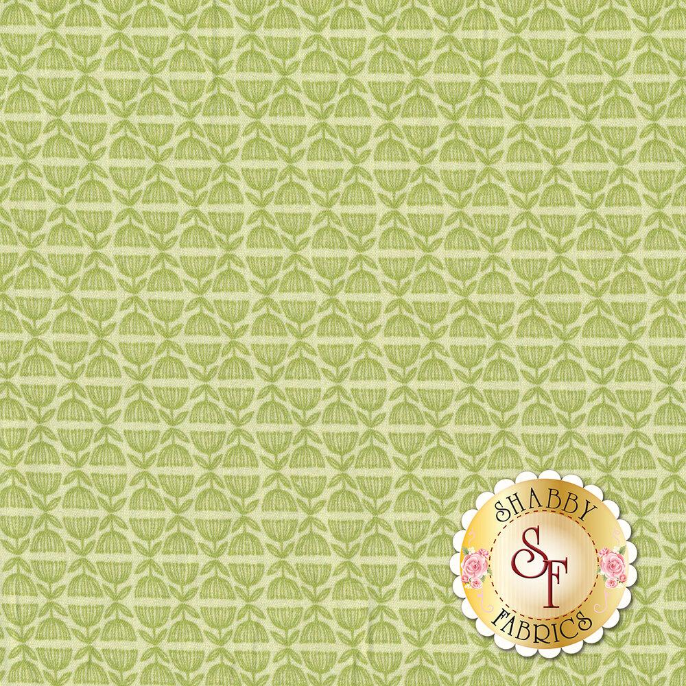 Tonal green design | Shabby Fabrics