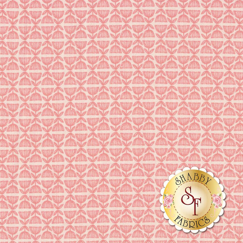 Tonal pink design | Shabby Fabrics