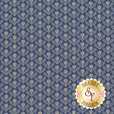 Heritage 542-55 Goshen Blue by Dover Hill Studio for Benartex Fabrics