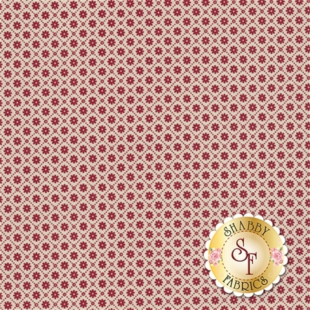 Heritage 544-10 Essex Red by Dover Hill Studio for Benartex Fabrics