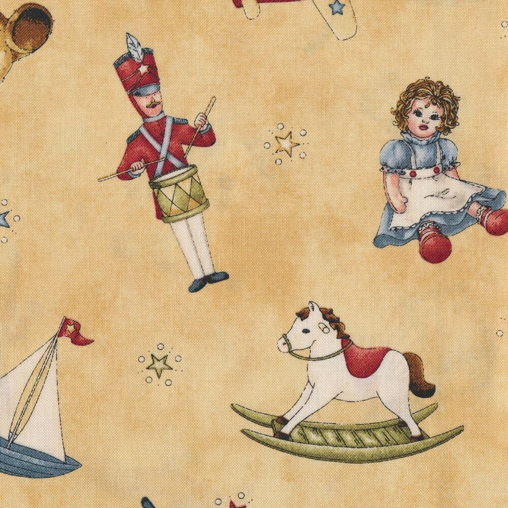Ho! Ho! Ho!  4pc Fabric Pack 1654-S by Maywood Studio