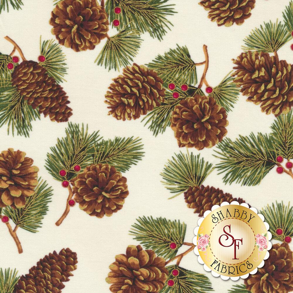 Hoffman Christmas 2018 Q7626-20G for Hoffman Fabrics