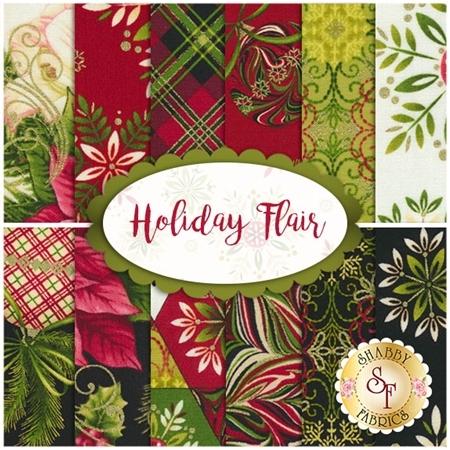 Holiday Flair 12 FQ Set by Art Loft for Studio E Fabrics