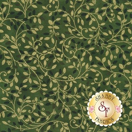 Holiday Flourish 10 16558-7 Green by Robert Kaufman Fabrics