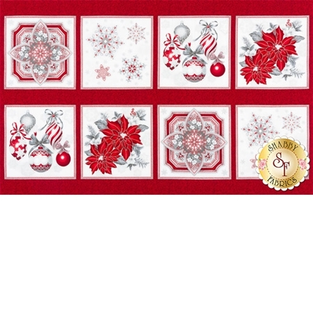 Holiday Flourish 10  16562-186 Silver by Robert Kaufman Fabrics