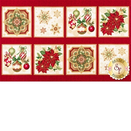 Holiday Flourish 10  16562-223 by Robert Kaufman Fabrics