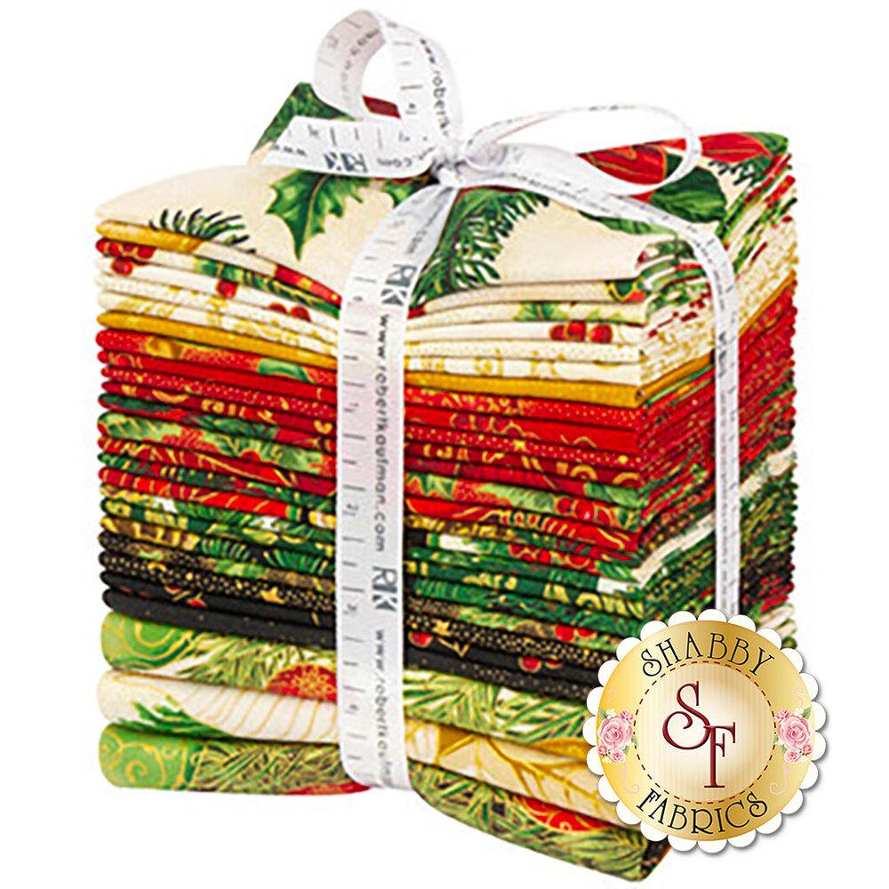 The Holiday Flourish 13 FQ Bundle | Shabby Fabrics