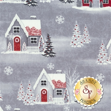 Holiday Homecoming 6761-89 by Jan Shade Beach for Henry Glass Fabrics