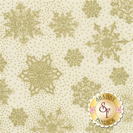 Holiday CM4281-Cream for Timeless Treasures