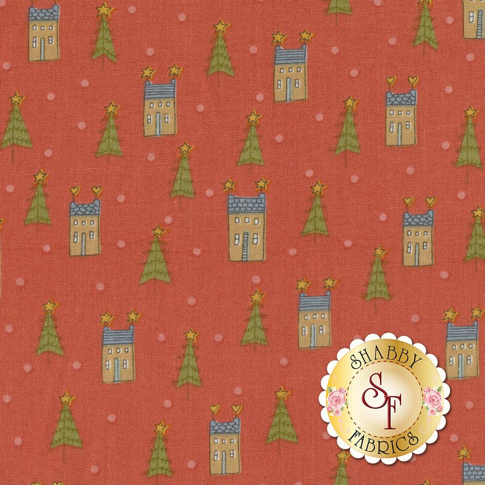 Home For Christmas 2071-88 for Henry Glass Fabrics