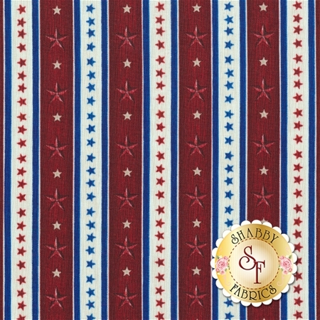 Home Of The Brave 24812-R by Quilting Treasures- REM