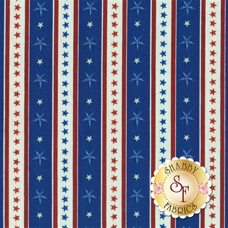 Home Of The Brave 24812-Y Royal by Dan Morris for Quilting Treasures REM A