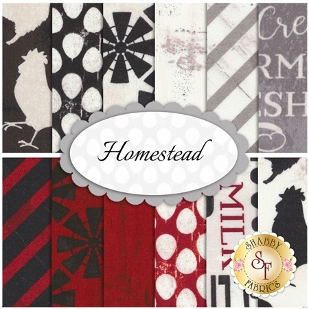 Homestead  12 FQ Set by Wilmington Prints
