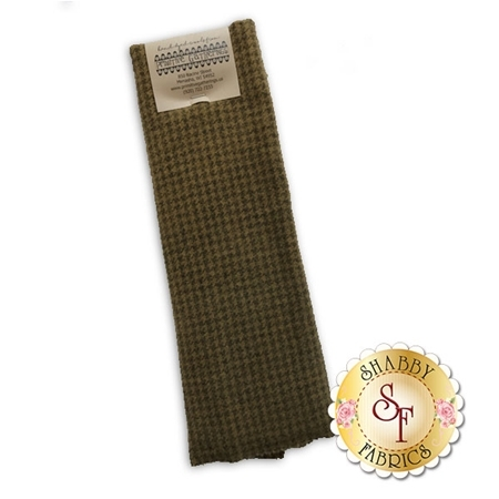 Hand Dyed Wool PRI 5014 Hoeycomb Houndstooth by Primitive Gatherings for Moda Fabrics