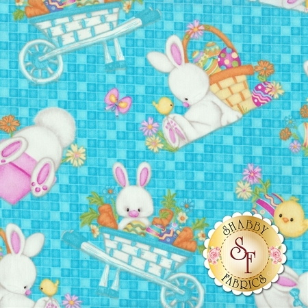 Hop To It! 6857-11 by Henry Glass Fabrics