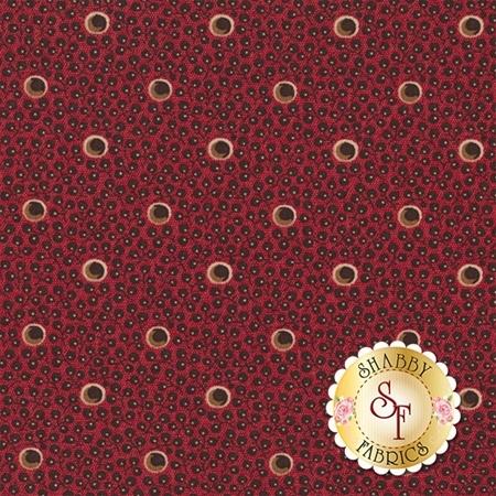 Hope's Journey 31536-12 Wild Strawberry by Betsy Chutchian for Moda Fabrics