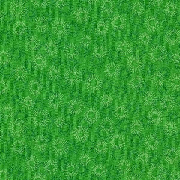 Tonal green flowers