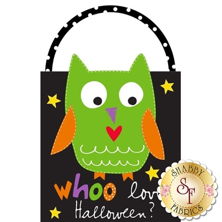 Huggable & Loveable 3370P-01 Soft Bag Panel - Boo! To You & Whoo Loves Halloween by Studio E Fabrics