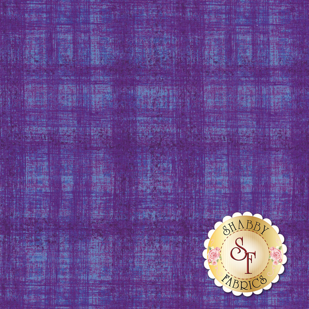 Dark purple woven texture design | Shabby Fabrics