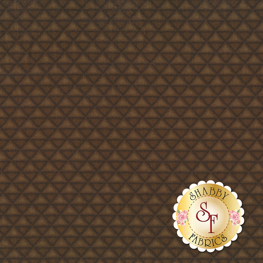 Tonal alternating triangles | Shabby Fabrics