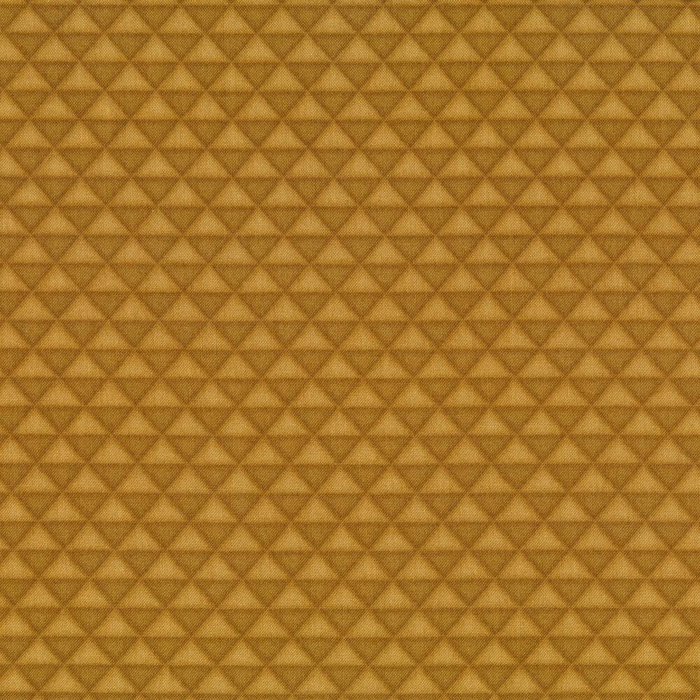 Tonal alternating triangles | Shabby Fabrics