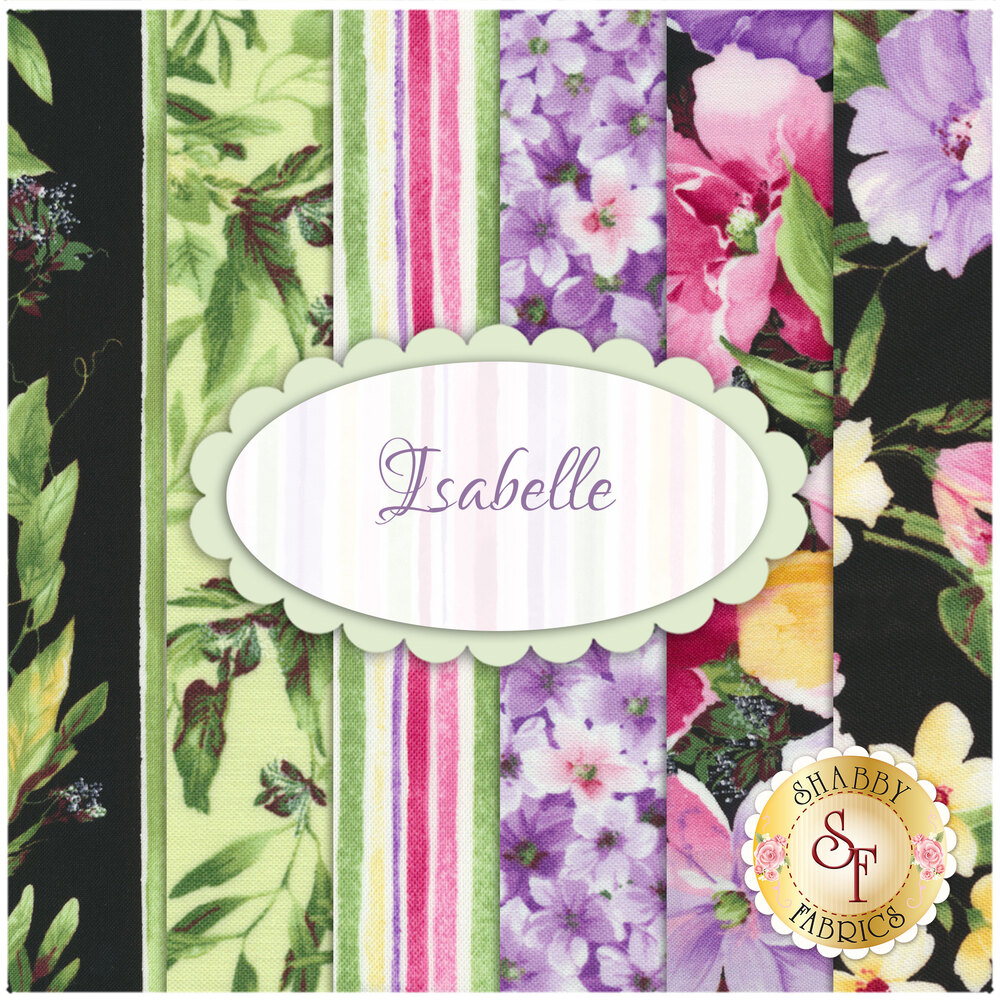 Isabelle  6 Half Yard Set by Timeless Treasures Fabrics | Shabby Fabrics