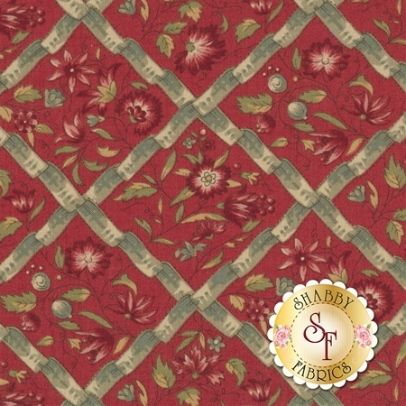 Jardin de Versailles 13812-11 by French General for Moda Fabrics
