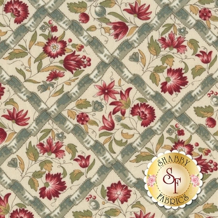 Jardin de Versailles 13812-13 by French General for Moda Fabrics
