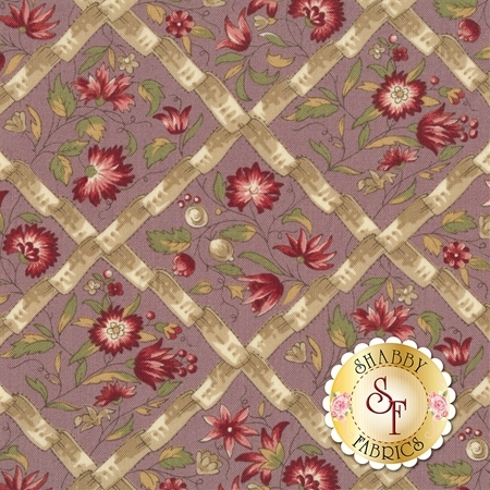 Jardin de Versailles 13812-14 by French General for Moda Fabrics REM