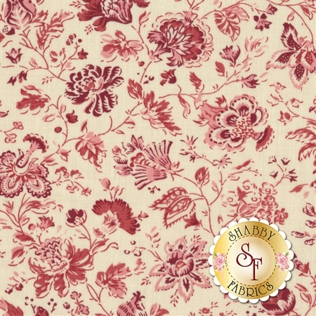 Jardin de Versailles 13814-12 by French General for Moda Fabrics- REM