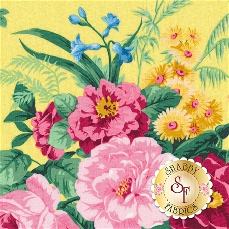 Julia's Garden 21607-51 by Deborah Edwards for Northcott Fabrics