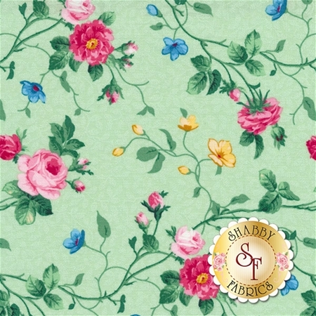 Julia's Garden 21609-71 by Deborah Edwards for Northcott Fabrics