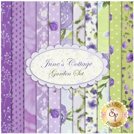 June's Cottage  11 FQ Set - Garden Set by RJR Fabrics