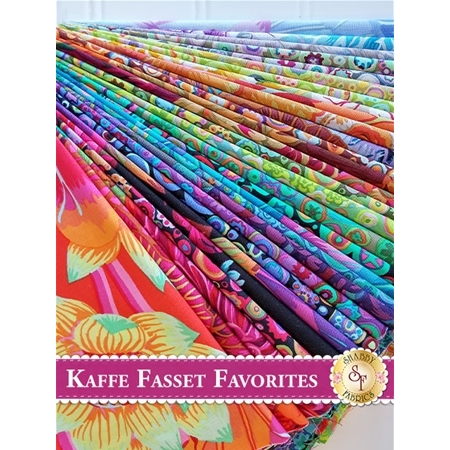 Kaffe Fassett Favorites  29 Fat Eighth Set by Kaffe Fassett for Westminster Fibers