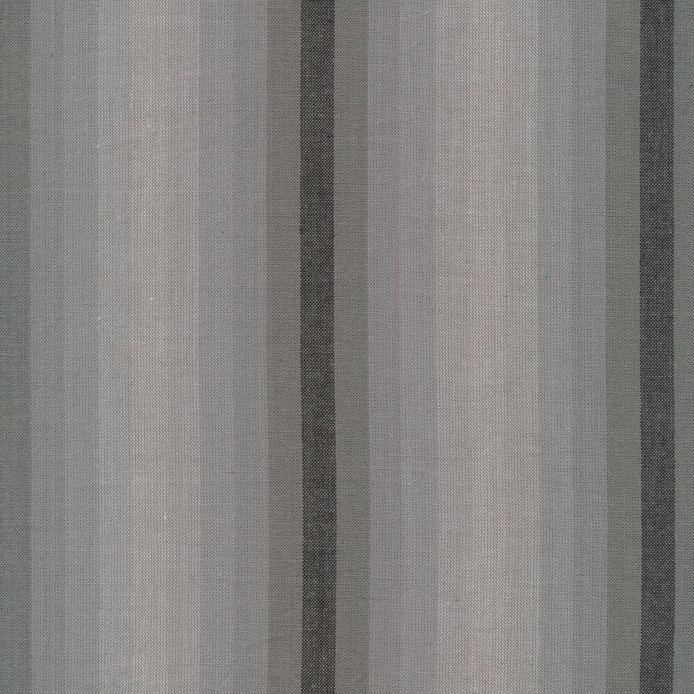 Modern grey striped fabric | Shabby Fabrics