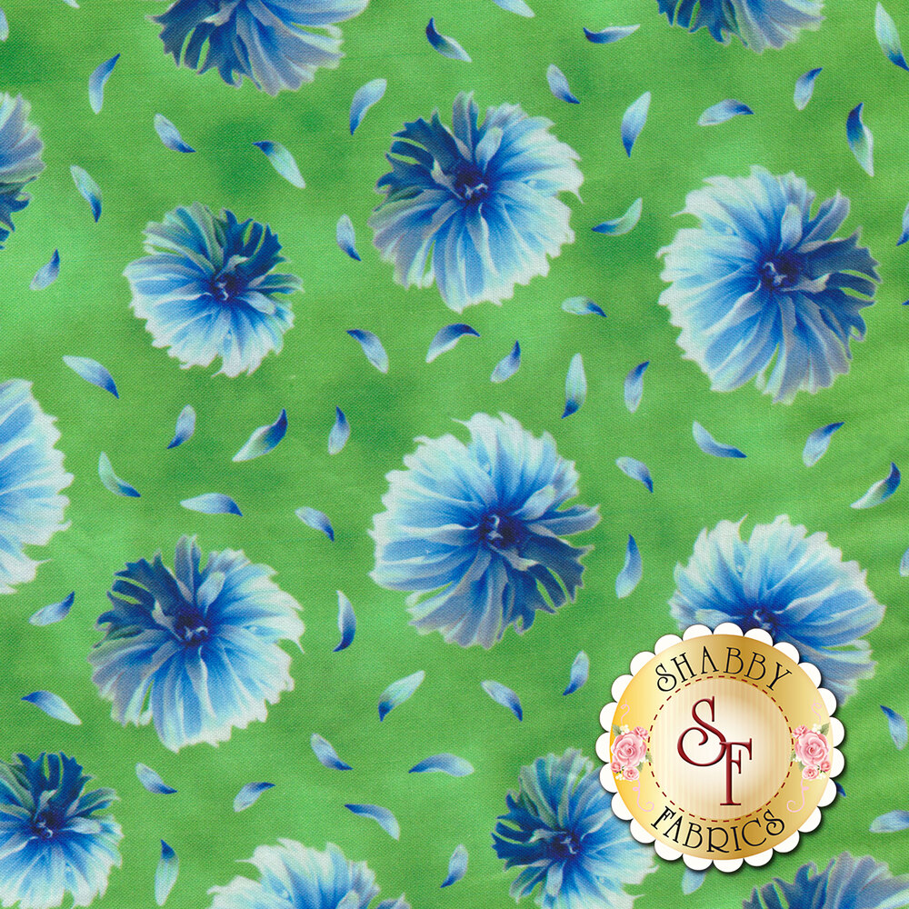 Kenzie 27123-H Lime by Quilting Treasures Fabrics available at Shabby Fabrics