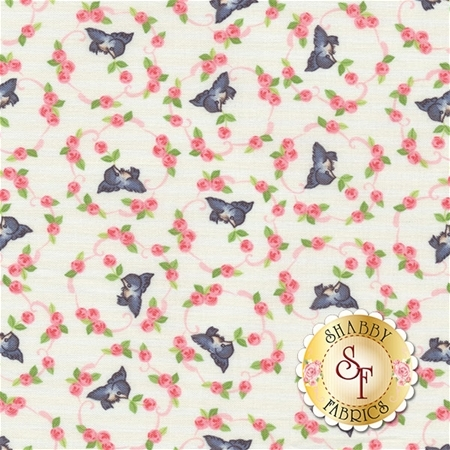 Kewpie Love C5822-CREAM by Riley Blake Designs