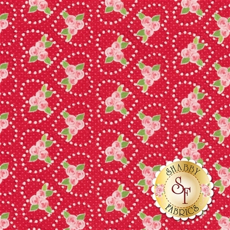 Kewpie Love C5823-RED by Riley Blake Designs