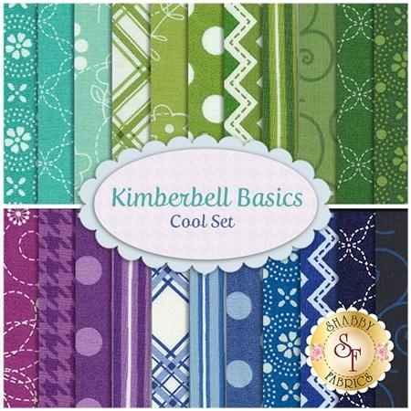 Kimberbell Basics  22 FQ Set - Cool Set by Kim Christopherson for Maywood Studio