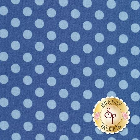 Kimberbell Basics 8216-BB Blue Tonal Dots by Maywood Studio