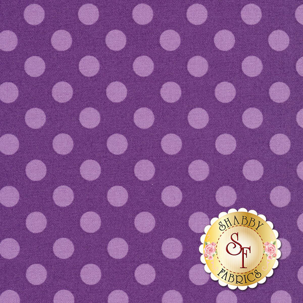 Kimberbell Basics 8216-VV Violet Tonal Dots by Maywood Studio