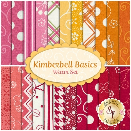 Kimberbell Basics  23 FQ Set - Warm Set by Maywood Studio