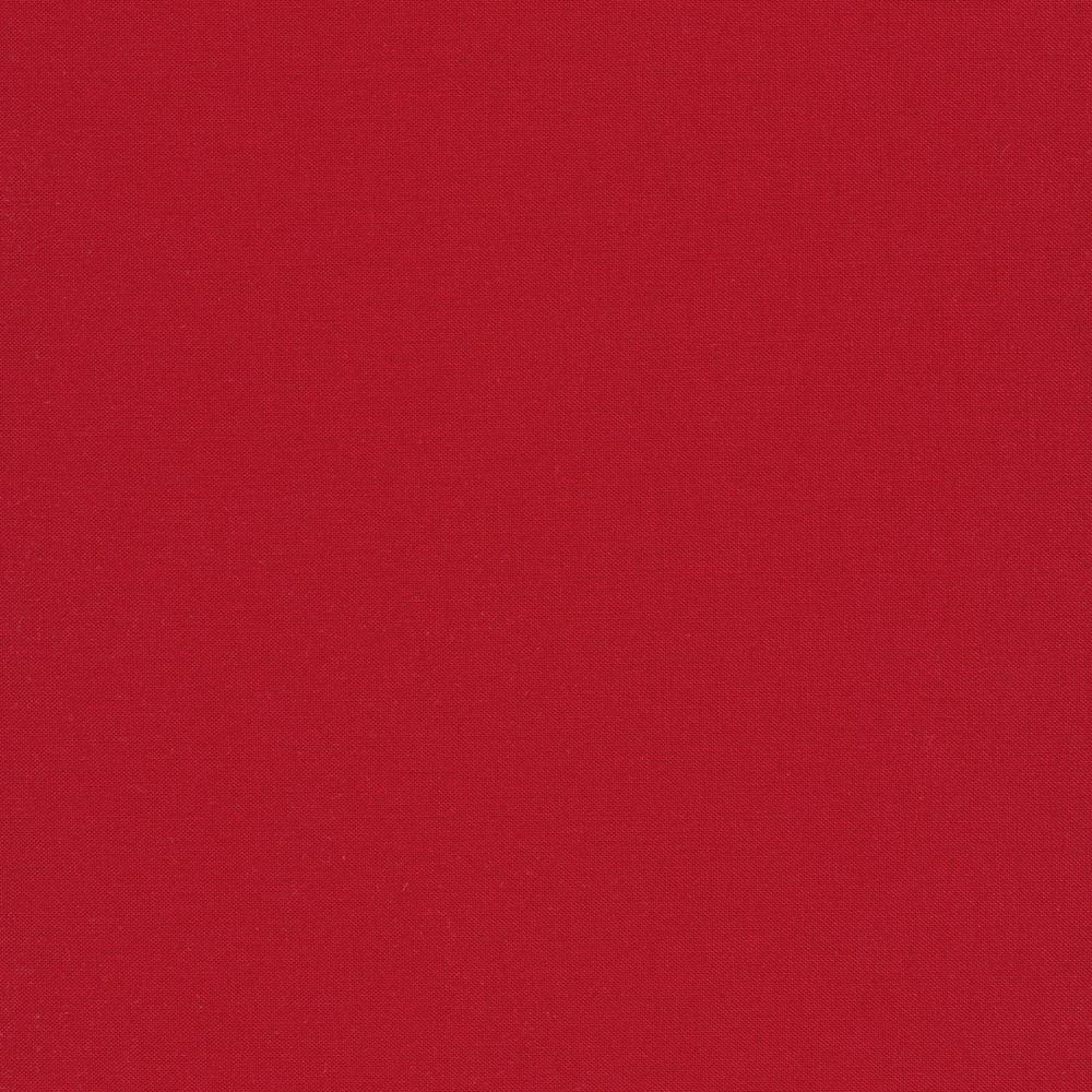 Kona Cotton Solids K001-1063 Cardinal by Robert Kaufman Fabrics | Shabby Fabrics