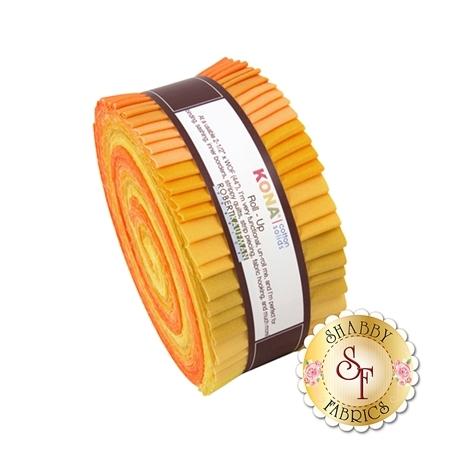 Kona Cotton Solids  Roll-Up - Citrus Burst by Robert Kaufman Fabrics