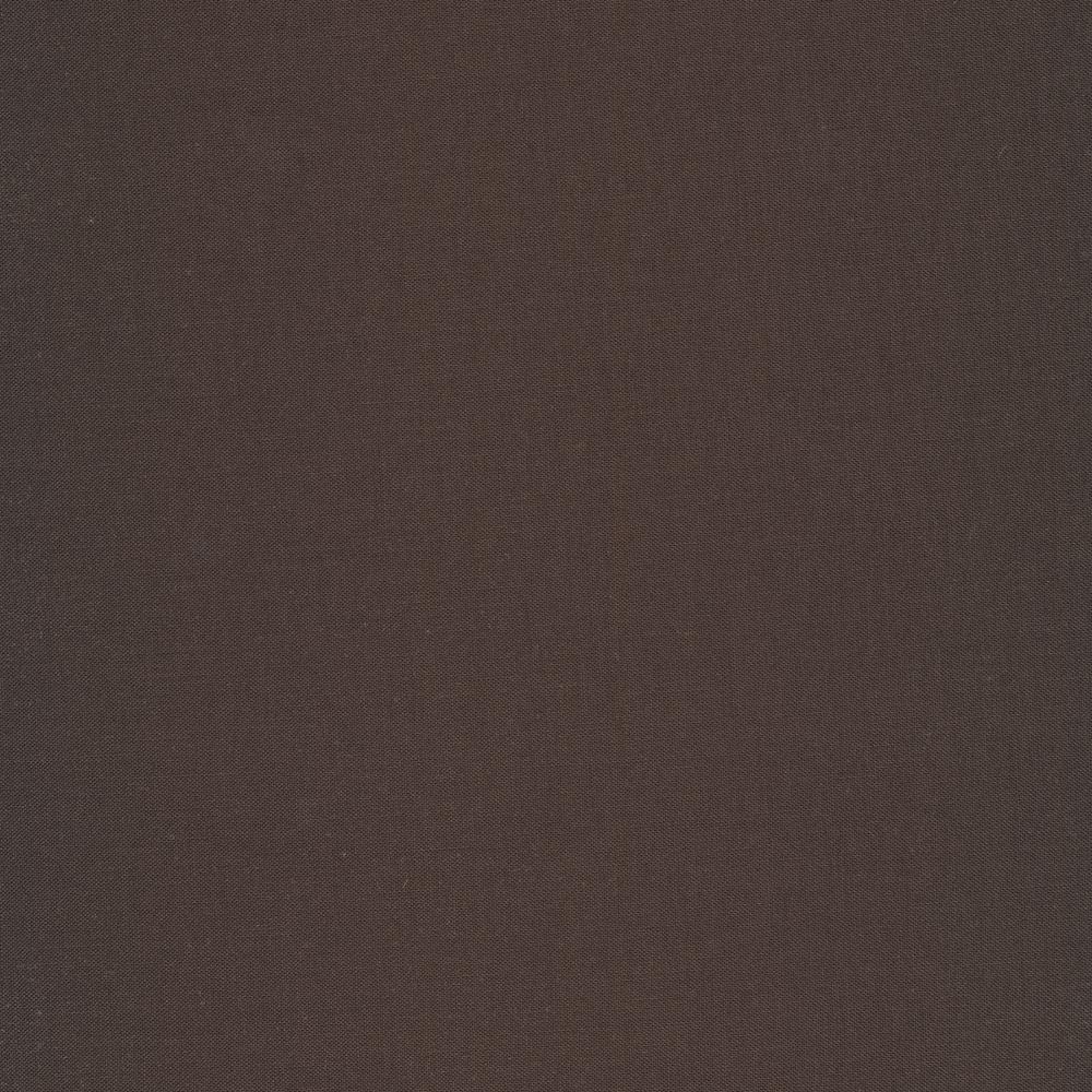 Solid black fabric