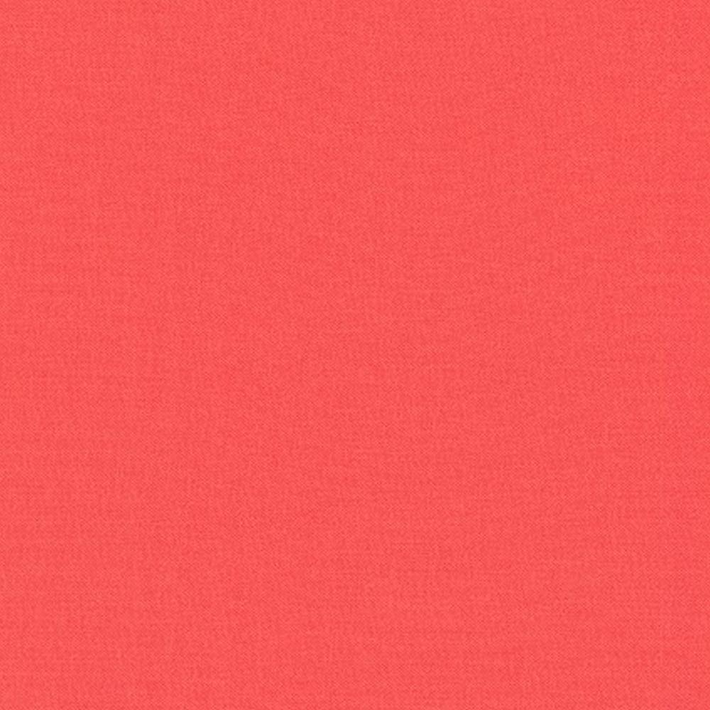 Kona Cotton Solids K001-1087 Coral by Robert Kaufman Fabrics   Shabby Fabrics