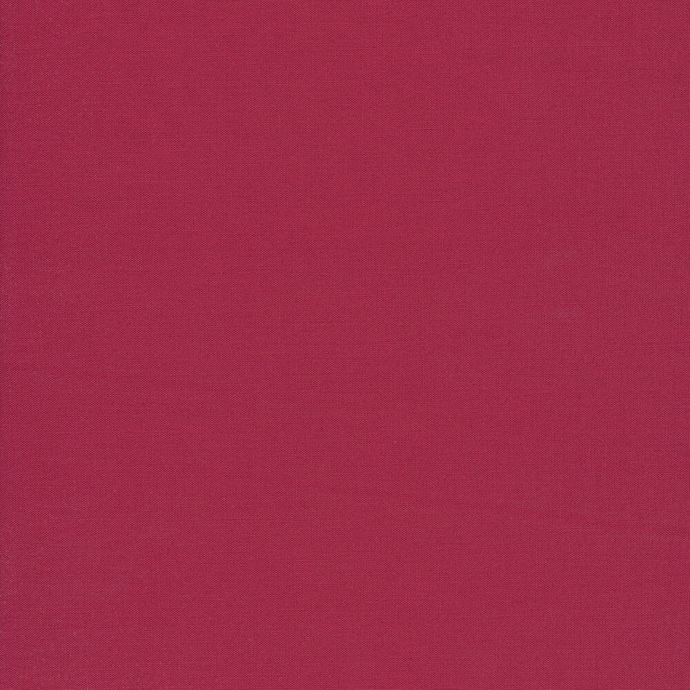 Kona Cotton Solids K001-1099 Deep Rose by Robert Kaufman Fabrics